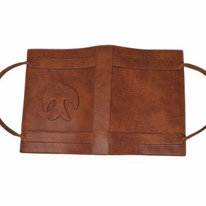 Leather Bible Carrier with Handles